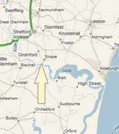 History of Snape in Suffolk Coastal | Map and description
